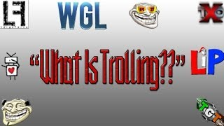Asking fellow Youtubers what their definition of trolling is. Joined by the following: http://www.youtube.com/user/MRLBXv2...
