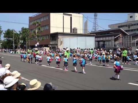 第80回北海道音楽大行進(2012年) あすなろ幼稚園
