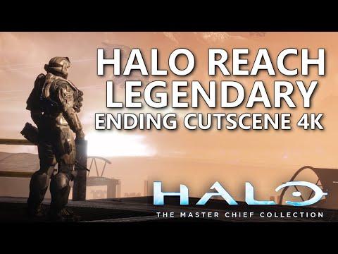 Halo Reach PC 4K Legendary Ending Cutscene - Halo Masterchief Collection