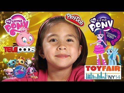 My Little Pony EQUESTRIA GIRLS Rainbow Rocks, PLAY DOH, Angry Birds STELLA – TOY FAIR 2014