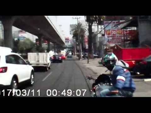 Conductor atropella a presunto asaltante en Periférico