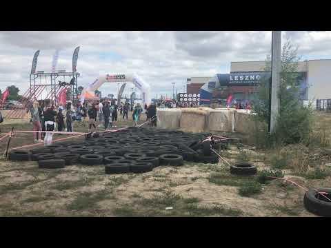 Wideo1: Start do Biegu TorTura na Zaborowie