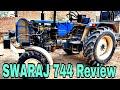 Swaraj 744 fe Review    Swaraj 744 50 HP