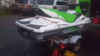 6. 05' Kawasaki Stx-R 1200 Startup and running. For Sale.