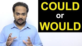 Video Correct Use of COULD and WOULD | What's the Difference? | Modal Verbs in English Grammar MP3, 3GP, MP4, WEBM, AVI, FLV Juli 2018
