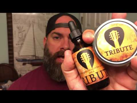 Tribute Collaboration Beard Oil & Balm Review