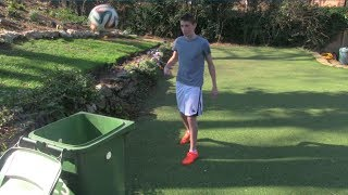 Football Bin Shots & Skills