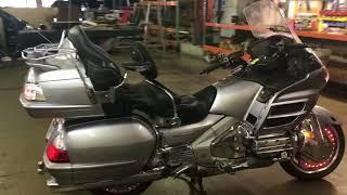 2. 2009 Honda Goldwing GL 1800 (silver) 2037 Fallen Cycles