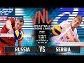 Vs                  2018  Russia Vs Serbia  Volleyball Nations League 2018