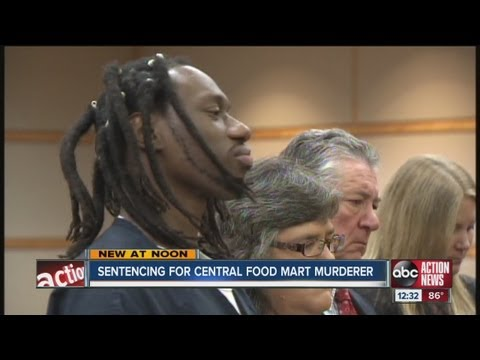 Admitted Central Food Mart murderer sentenced to death