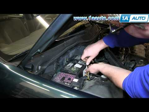 How To Install Replace Dead Battery 1992-2000 Honda Civic