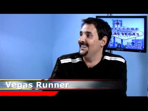 Vegas Runner the Boxing Journalist
