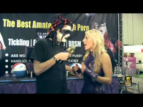 VJ Interviews Ashley Fires @ The Adult Entertainment Expo