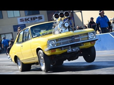 drag - Qualifying and elimination action from round 3 of the APSA Pro Street Shootout held at Sydney Dragway. Features, V8, rotary and turbo 6 cylinder powered vehi...