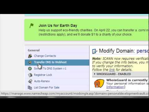 How To Transfer A Domain Name | From Namecheap To Hostgator