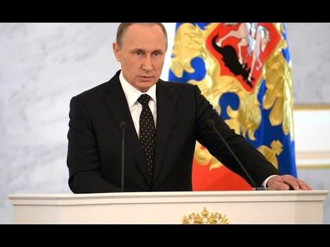 (С сурдопереводом) Послание Президента РФ Владимира Путина Федеральному собранию. Прямая трансляция (видео)