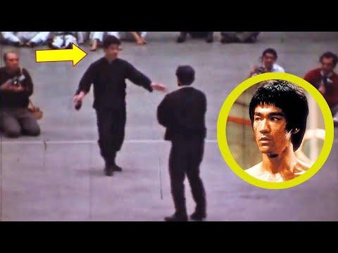 Esta Es La Unica Pelea Real De Bruce Lee Grabada En La Vida Real