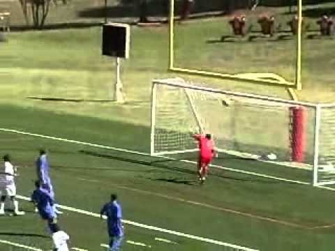 Men's Soccer vs. Chowan 9/4/10 Highlights