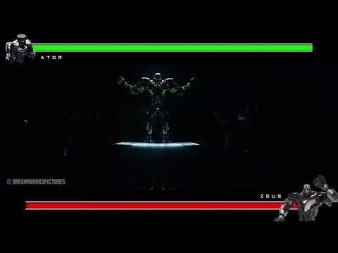 Atom vs Zeus |Reel Steel| With Healtbars
