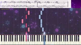 Happy New Year (Easy) (Ноты и Видеоурок для фортепиано) (piano cover)