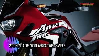 10. 2019 Honda CRF 1000L Africa Twin Changes | Motorcycle-Sport!
