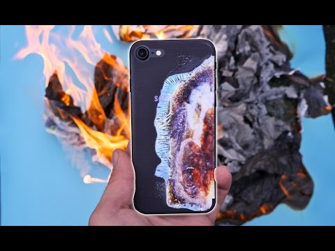 Galaxy Note 7 Explosion Look on iPhone 7!