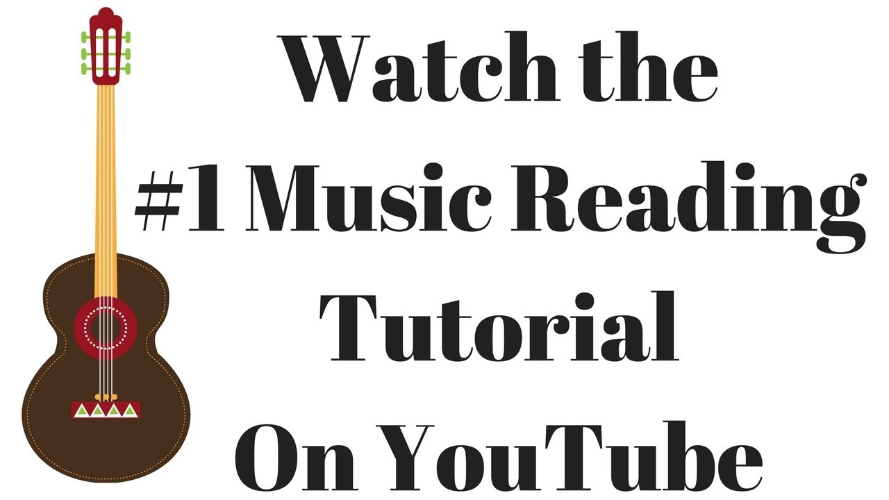 How to Read Music For Guitar – 100 On Screen Exercises and Tutorials
