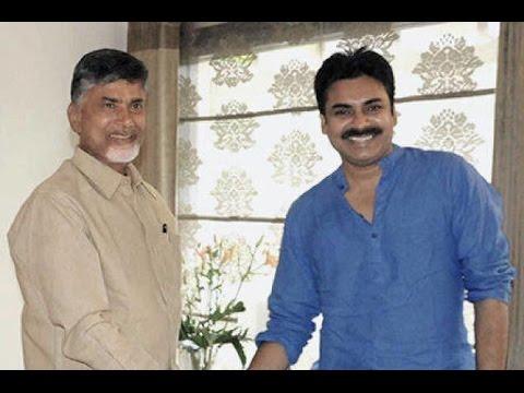 Pawan Kalyan Meets AP CM Chandrababu Naidu