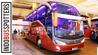 Video BUS MEWAH HARGA 2M! EVOLANDER SHD 1836 | Bus Review #11 MP3, 3GP, MP4, WEBM, AVI, FLV Agustus 2017