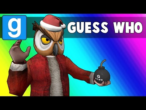 Gmod Guess Who Funny Moments - Sit on Santa's Lap! (Garry's Mod)