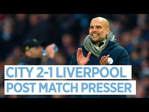 Pep Guardiola Reacts To Man City V Liverpool | PRESS CONFERENCE