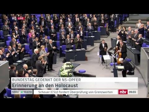 Deutscher Bundestag gedenkt Opfer des Nationalsozialism ...