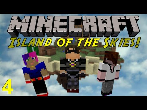 Minecraft: Island of the Skies 4 : Progressing Along!