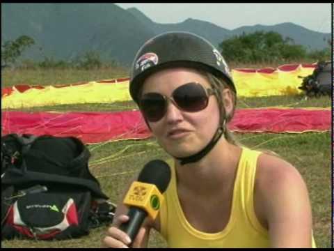 Adrenalina: Voo livre de parapente em Santo Amaro
