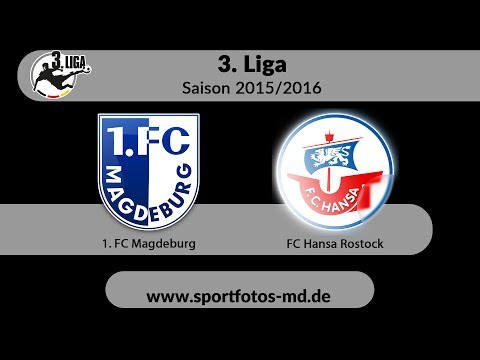 Video: 1. FC Magdeburg - FC Hansa Rostock am 05.03.2016 (HD Mar 2016)