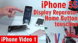 Hier der Link zum Artikel ► http://tuhlteim.de/iphone-5s-display-reparatur-home-button-einfach-tauschen-4k-videoHier seht Ihr, wie man bei einem Apple iPhone 5s das defekte, zerbrochene Display austauscht und den Home Button wechselt. Habt Ihr ein zerbrochenes Display, dann bekommt Ihr ein neues Display entweder mit oder ohne Home Button oder Lautsprecher. Habt Ihr ein Display ohne diese Bauteile gekauft, dann müsst Ihr diese auf das neue Display umbauen.Beachtet, dass Ihr das passende Werkzeug zum Öffnen des iPhones habt oder mitbestellt.Lest den kompletten Artikel mit Video auf Tuhl Teim DE mit zusätzlichen Tipps, Bildern und InfosDie Webseite von Tuhl Teim DE  ►  http://tuhlteim.de▼ ▼ ▼  ERSATZTEILE  & KOMPONENTEN  ▼ ▼ ▼Displays für das iPhone 5s findet Ihr hier ► http://amzn.to/2t7srj8  [*]Displays für das iPhone 5c findet Ihr hier ► http://amzn.to/2t7Trza  [*]Displays für das iPhone 5 findet Ihr hier ► http://amzn.to/2rBB9od  [*]Displays für das iPhone 6 findet Ihr hier ► http://amzn.to/2sgbAec  [*]Displays für das iPhone 6s findet Ihr hier ► http://amzn.to/2rwEUjg  [*]Displays für das iPhone SE findet Ihr hier ► http://amzn.to/2tsNWud  [*]Displays für das iPhone 7 findet Ihr hier ► http://amzn.to/2s6mYe8  [*]Home Button Ersatz und Kits ► http://amzn.to/2t7EZHs  [*]Ganz wichtig:Bevor Ihr euch Teile kauft, schaut vorher genau, ob diese Komponenten mit eurem iPhone kompatibel sind.▼ ▼ ▼  TIPPS & TRICKS  ▼ ▼ ▼Testet euer Handy vor dem kompletten Wiederzusammenbau und prüft, ob alle Kabel richtig sitzen und der Home Button und die Kameras funktionieren.Übt keine zu großen Druck auf das neue Display beim Zusammenbau aus. Falls das Display nicht richtig in das Gehäuse passt, baut es wieder aus und versucht es noch einmal einzubauen.Weitere Videos für iPhone und andere Handys ► http://tuhlteim.de/category/handysWeitere Videos für Apple, iMac und Macbooks ► https://www.youtube.com/playlist?list=PL3P-jdLnG4I05N4anSurYrjaZR47OLNNa▼ ▼ ▼  WEITERE VIDEOS  ▼ ▼ ▼Klickt auch e