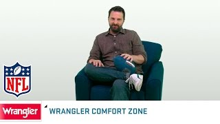 Wrangler Comfort Zone: Steve Smith's Mighty Mouth | NFL Now by NFL Network
