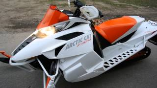 9. 2012 Arctic Cat F-1100 Turbo SnoPro Limited