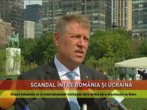 Scandal între România și Ucraina