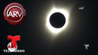 Las mejores imágenes del eclipse total de sol en EE.UU | Al Rojo Vivo