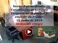 Sesión Extraordinaria Constitución nueva Corporación Municipal y elección de Alcalde