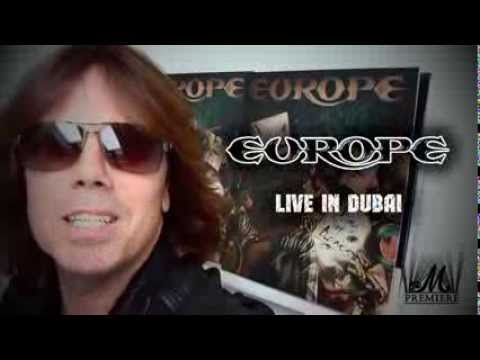 EUROPE Live in Dubai, November 22, 2013
