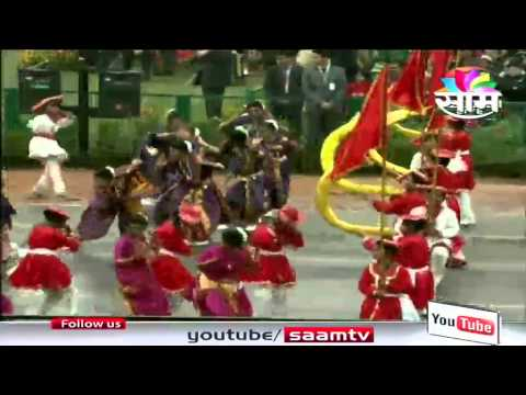 Video Marathi Folk Dance Gondhal performance at Republic Day Parade download in MP3, 3GP, MP4, WEBM, AVI, FLV January 2017
