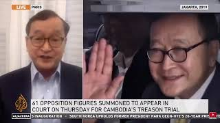 Khmer Politic - Sam Rainsy interview in English with AlJazeera Television on January 14, 2021 360p