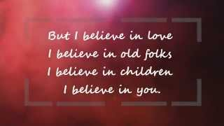 I believe in You-  Don Williams HD LYRICS