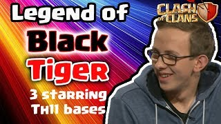 Video The Legend of BlackTiger | 3 Starring TH10 & TH11 | War Challenge - Clash Of Clans 2016 MP3, 3GP, MP4, WEBM, AVI, FLV Agustus 2017