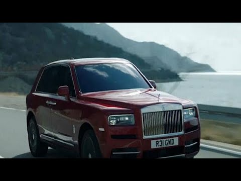 العرب اليوم - شاهد: رولس رويس تكشف عن أول سيارة SUV