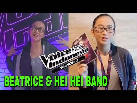 Beatrice & Hei Hei Band | Blind Auditions | The Voice Kids Indonesia Season 3 GTV 2018