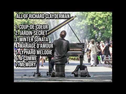 Richard Clayderman (Beautiful piano) 7 Melody