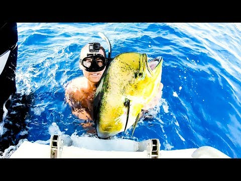 New Drone | Insane Day Deep Blue Water Spearfishing | Wahoo Catch And Cook - Ep 64 - Thời lượng: 18 phút.
